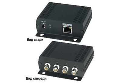 Передача по коаксиальному кабелю Ethernet SC&T IP01H