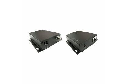 Передача по коаксиальному кабелю PoE Osnovo TA-IPPoE+RA-IPPoE