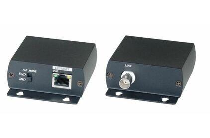 Передача по коаксиальному кабелю PoE SC&T IP01P