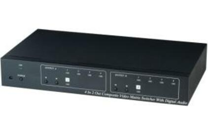 Матричный коммутатор Компонентное видео и аудио SC&T CS04M