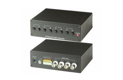 Передача по витой паре Композитное видео S-video и аудио SC&T TTA414VR