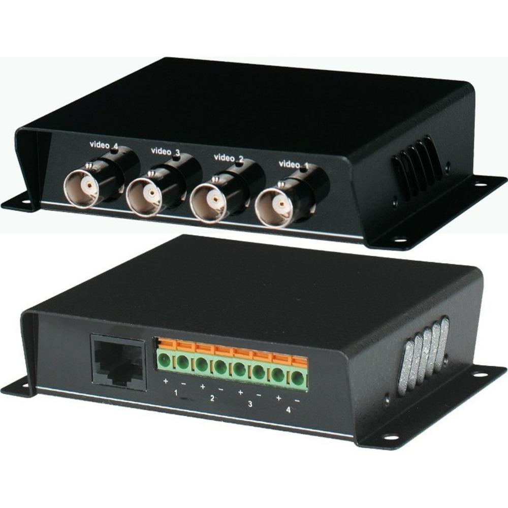 Передача по витой паре Композитное видео S-video и аудио SC&T TTP414VD