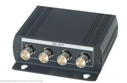 Усилитель-распределитель Композитное видео и аудио SC&T SDI04D