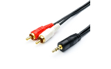 Кабель аудио 1xMini Jack - 2xRCA Atcom AT0709 Audio Cable 5.0m