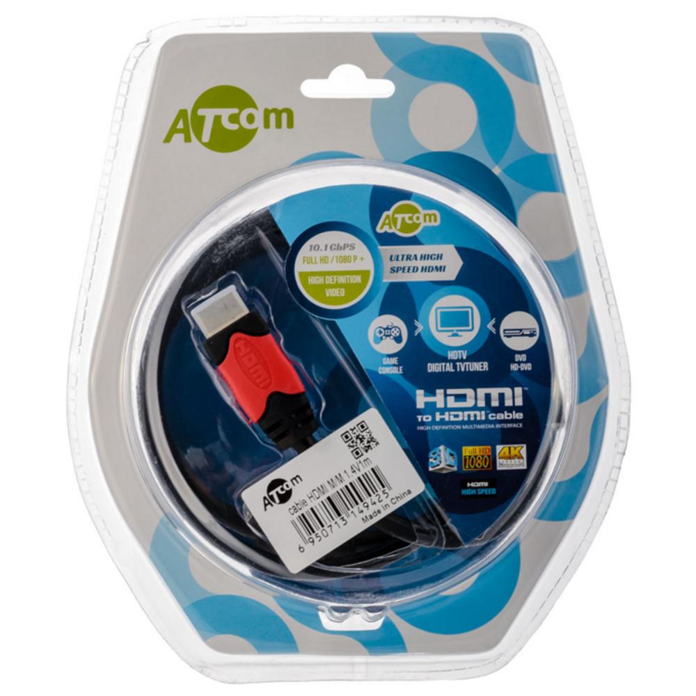 Кабель HDMI - HDMI Atcom AT4942 HDMI Cable 1.0m