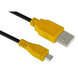 Кабель USB 2.0 Тип A - B micro Greenconnect GCR-UA3MCB1-BB2S 0.3m