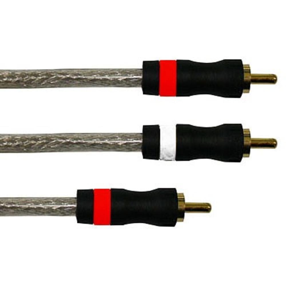 Кабель сабвуферный 1xRCA - 2xRCA Eagle Cable 20061050 HIGH STANDARD Y-Sub 5.0m