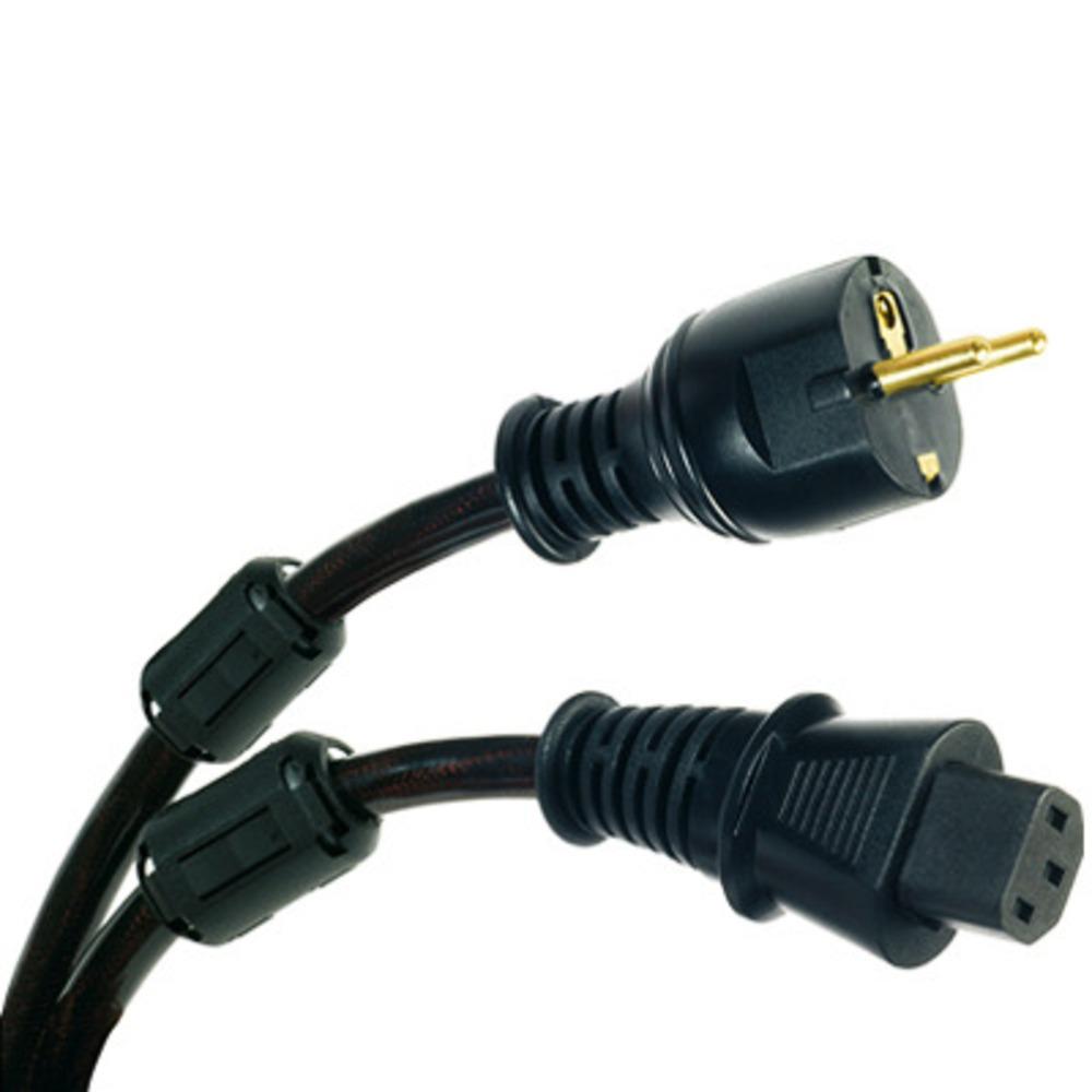 Кабель силовой Schuko - IEC C13 Real Cable PSKAP25 1.5m