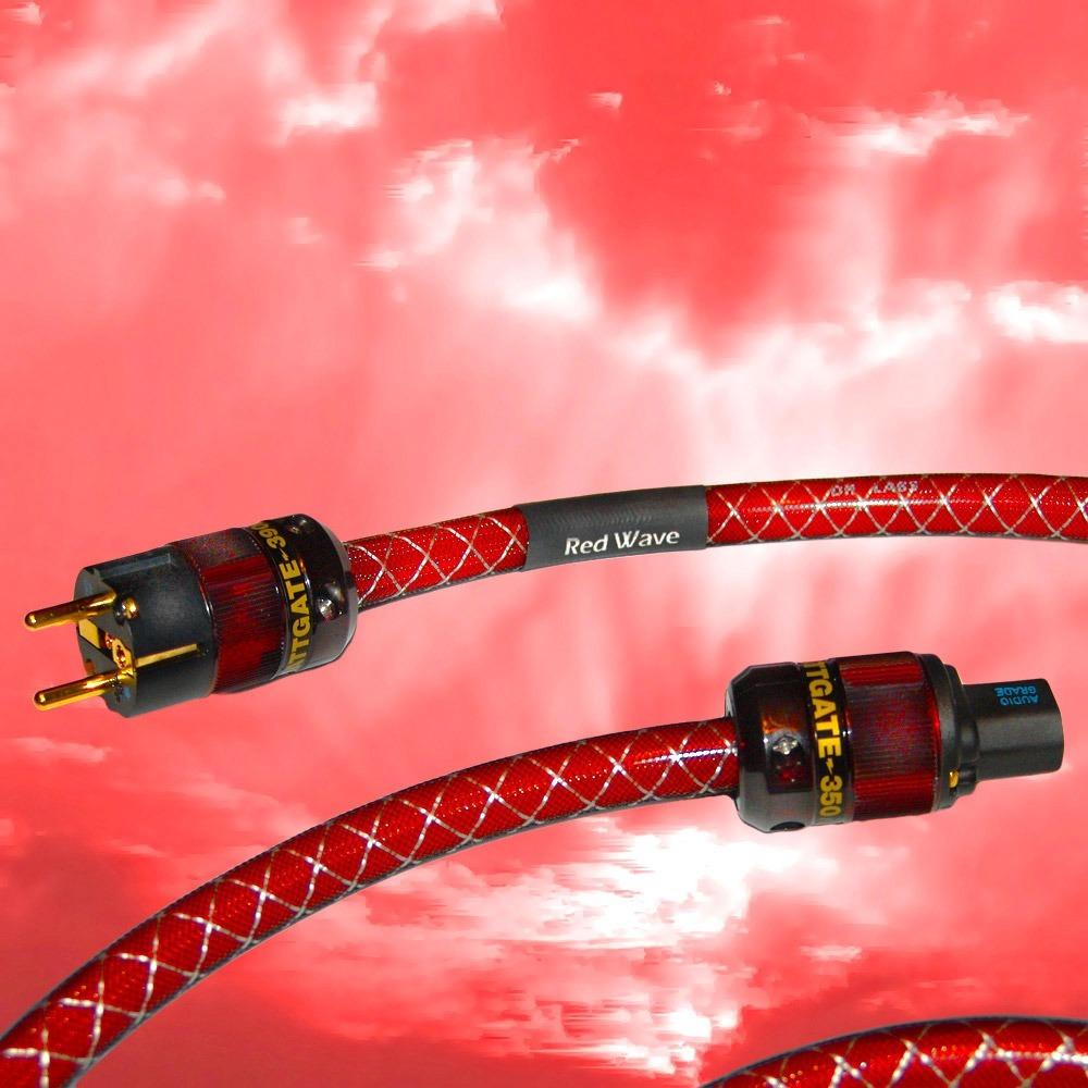 Кабель силовой Schuko - IEC C13 DH Labs Red Wave AC Cable 1.5m