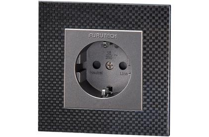 Розетка силовая 2К+З Furutech FT-SWS(R) Carbon