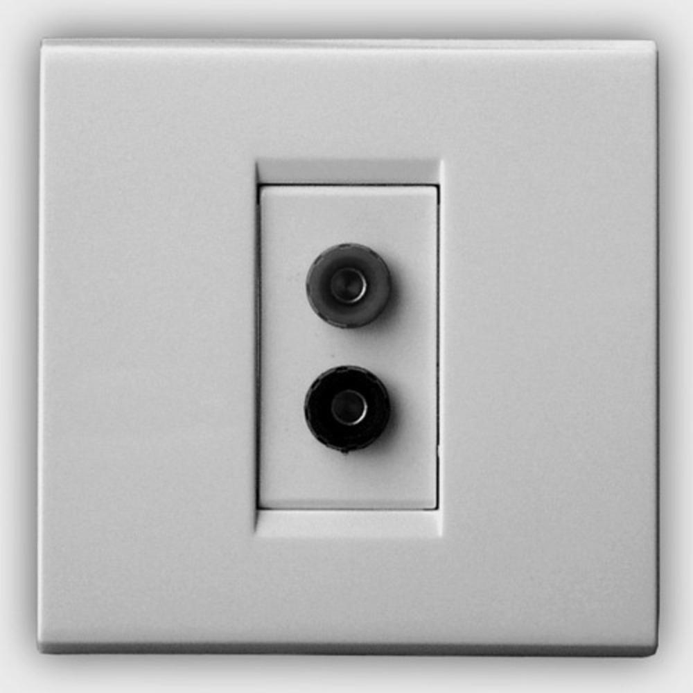 Розетка акустическая QED (A-WM09) Speaker Socket WM09