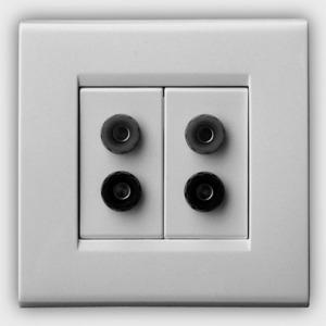 Розетка акустическая QED (A-WM11) Speaker Socket WM11