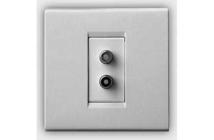 Розетка аудио/видео QED (A-WM05) RCA Socket WM05