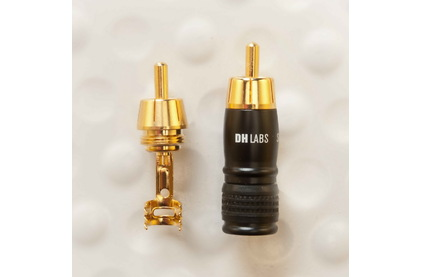 Разъем RCA (Папа) DH Labs RCA-650 Gold