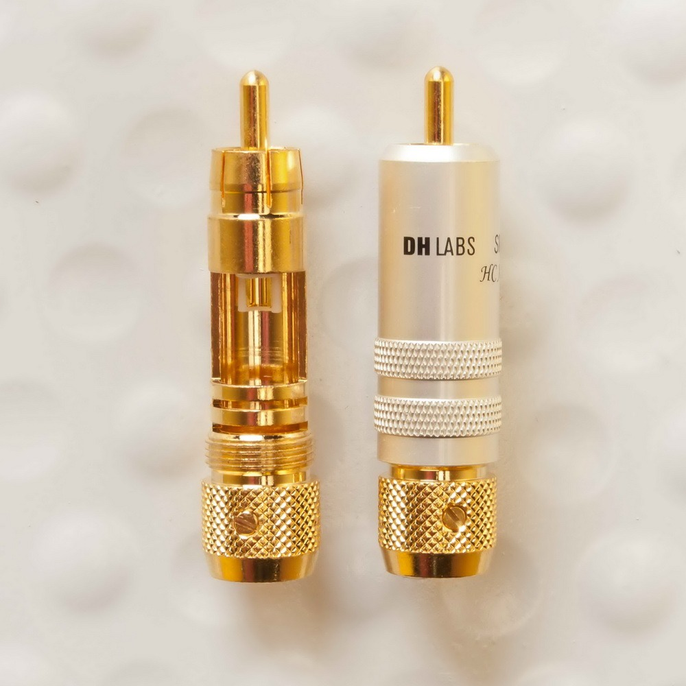 Разъем RCA (Папа) DH Labs RCA Ultimate Gold