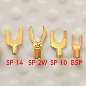 Разъем Лопатка DH Labs Spade SP-10 Gold
