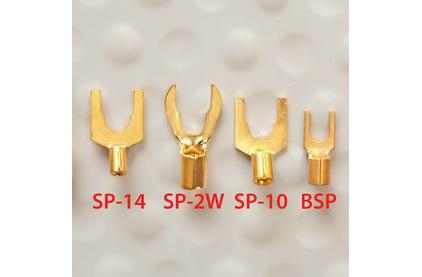 Разъем Лопатка DH Labs Spade SP-14 Gold