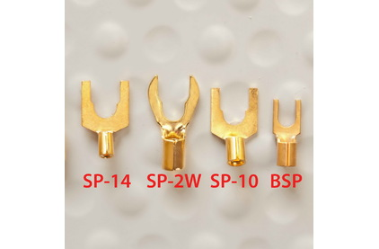 Разъем Лопатка DH Labs Spade BSP Gold