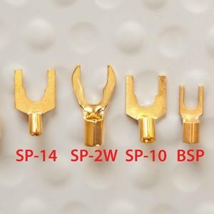 Разъем Лопатка DH Labs Spade SP-2W Gold