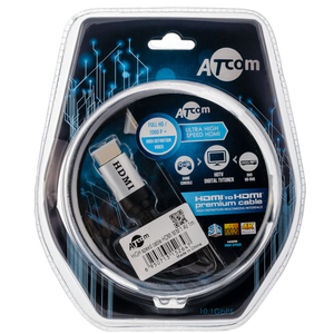 Кабель HDMI - HDMI Atcom AT5264 HDMI Cable 1.0m
