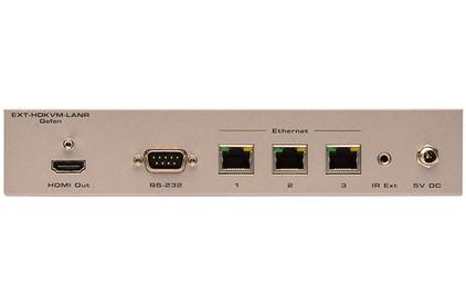 Передача по IP сетям HDMI, USB, RS-232, IR и аудио Gefen EXT-HDKVM-LANRX