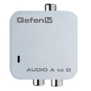 Преобразователь небалансного стереоаудиосигнала в цифровой формат Gefen GTV-AAUD-2-DIGAUD