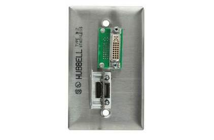 Установочная панель с разъемами DVI, HDMI Gefen WP-HDMI-DVI