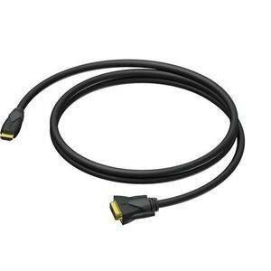 Кабель HDMI-DVI Procab CLV160/1.5 1.5m