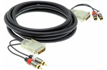 Кабель DVI - DVI QteX TC-D25P/2RP-3 3.0m