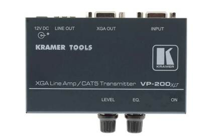 Передача по витой паре VGA Kramer VP-200XLT