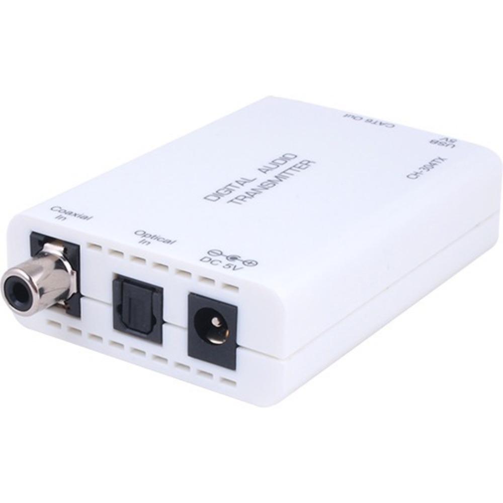 Передатчик цифрового аудиосигнала (S/PDIF, TOSLINK) по витой паре до 150 м Cypress CH-304TX