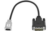 Переходник HDMI - DVI QteX TC-HS/D25P-0.3