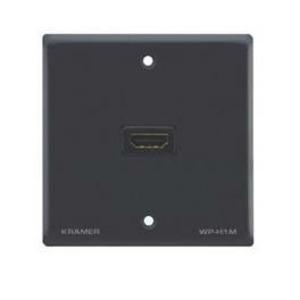 Установочная панель с разъемами DVI, HDMI Kramer WP-H1M/EU/GB(G)