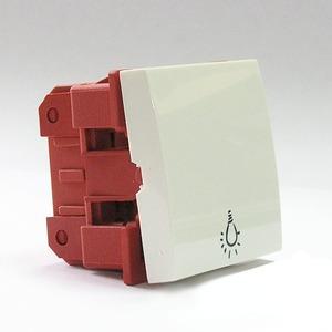 Выключатель 1 клавишный Dr.HD 016003003 10 A/250 В, 45х45