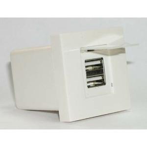 Розетка 2xUSB 2.0 для зарядки устройств Dr.HD 016002015 SOC 2xUSB 2.0 CG