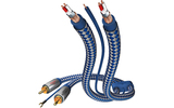 Кабель Phono 2xRCA - 2xRCA Inakustik 00405107 Premium Phonokabel 0.75m