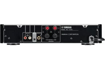 Усилитель интегральный Yamaha A-670 Black