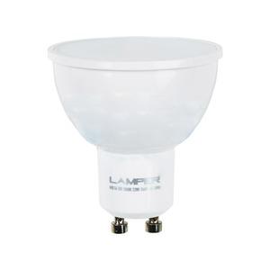 Лампа Lamper 601-746 LED MR16 GU10, 5W 3000K 400Lm 220V PREMIUM