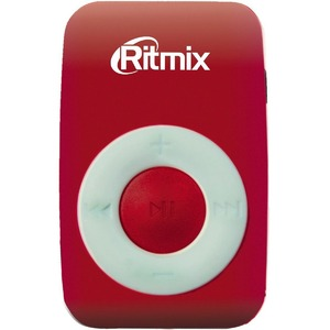 Портативный цифровой плеер Ritmix RF-1010 Red