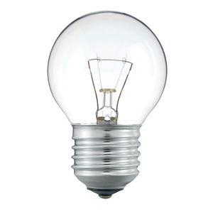 Лампа Philips P45 40W E27 230V CL 871150001188650
