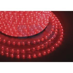 Дюралайт Neon-Night 121-122-6 LED постоянное свечение (2W) - красный бухта 100м