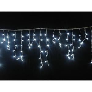 Гирлянда Neon-Night 255-137 Айсикл светодиодный 4.8 х 0.6 м белый провод 220В диоды белые