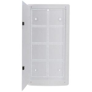 Шкаф настенный с передними петлями, для скрытого монтажа Hyperline HC-BX2-28-A-W-WH