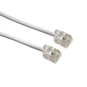 Кабель телефонный патч-корд Greenconnect GCR-TP6P4C 2.0m