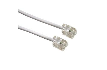 Кабель телефонный патч-корд Greenconnect GCR-TP6P4C 20.0m