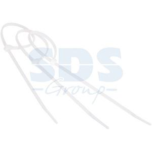 Хомут нейлоновый (кабельная стяжка) Rexant 07-0302-1 белый 300 х 8.0 мм профессиональный (100 штук)