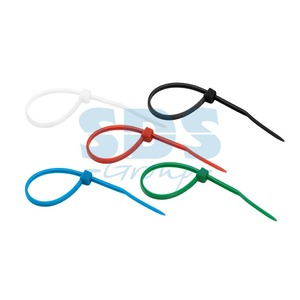 Хомут нейлоновый (кабельная стяжка) Rexant 07-0108-25 цветные 100 х 2.5 мм (25 штук)