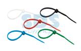 Хомут нейлоновый (кабельная стяжка) Rexant 07-0208-25 цветные 200 х 4.0 мм (25 штук)