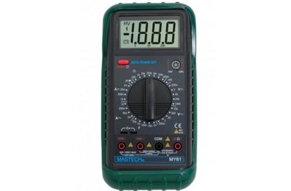 Мультиметр MASTECH 13-2050 Универсальный мультиметр MY61