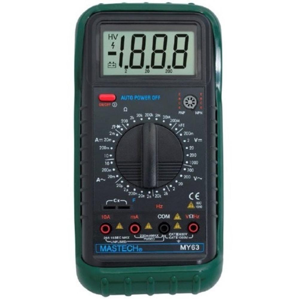 Мультиметр MASTECH 13-2051 Универсальный мультиметр MY63